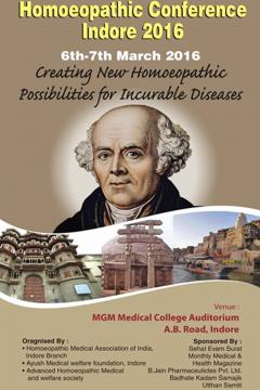 1st International Homeopathic Conference Indore 2016